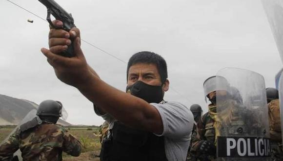 La prefecta regional de La Libertad confirmó la detención del agente policial que habría disparado en las protestas en dicha región norteña | Foto: Iván Orbegoso / La Industria