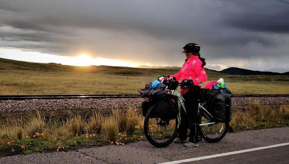 La peruana planeó esta aventura durante un año y medio. El primer paso fue renunciar a su trabajo como ingeniera civil.(Foto: Archivo personal)
