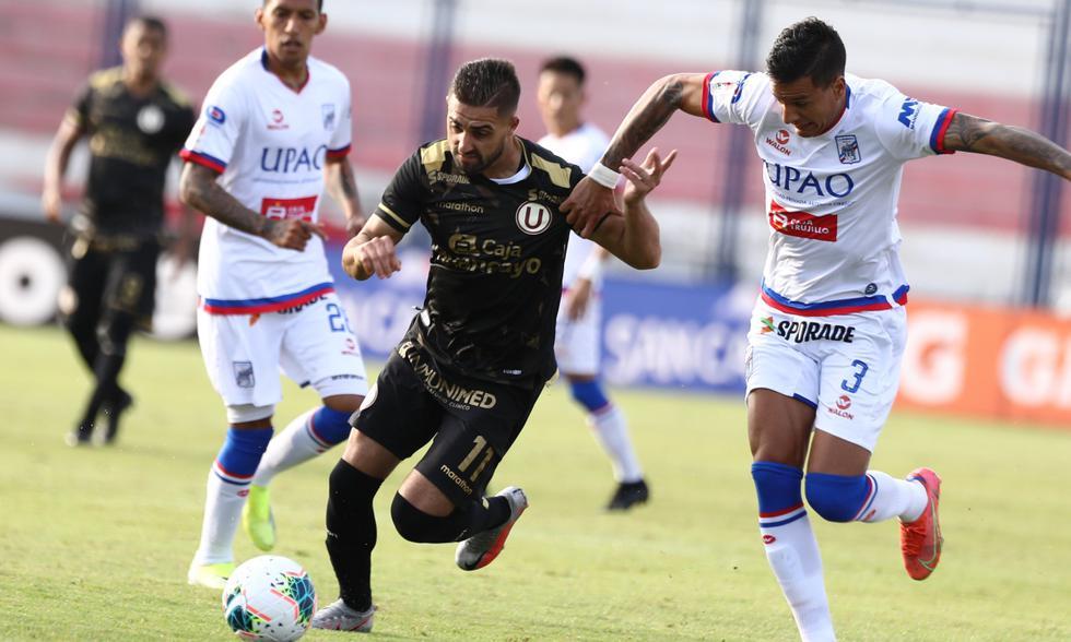 Universitario empató sin goles ante Mannucci y quedó fuera de la final del Apertura 2021