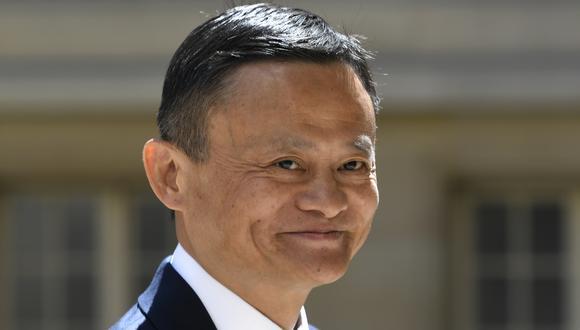 Jack Ma es el cofundador del grupo Alibaba y uno de los hombres más ricos de China. Foto: Bertrand GUAY / AFP