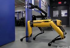 El robot de cuatro patas que abre puertas y aterra a muchos [VIDEO]