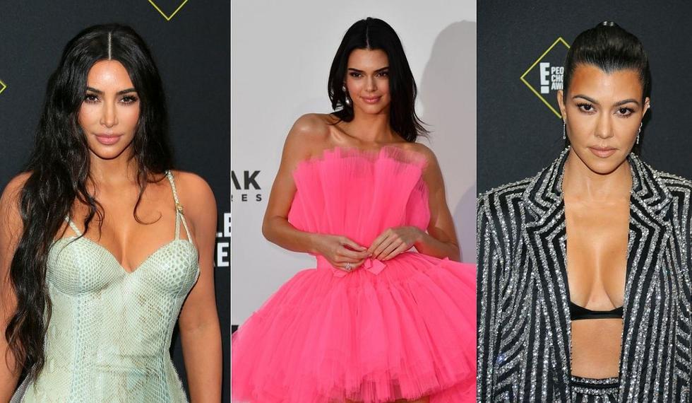 Cada una tiene un estilo definido, pero juntas son un verdadero derroche de glamour. Las hermanas Kardashian-Jenner han marcado la pauta con sus atuendos este 2019. (Foto: AFP)