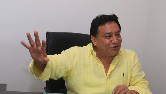 José Gálvez Luna, ex congresista y ex integrante de Solidaridad Nacional, fundó el partido Podemos Perú que tuvo como candidato a Daniel Urresit. (Foto: Archivo El Comercio)