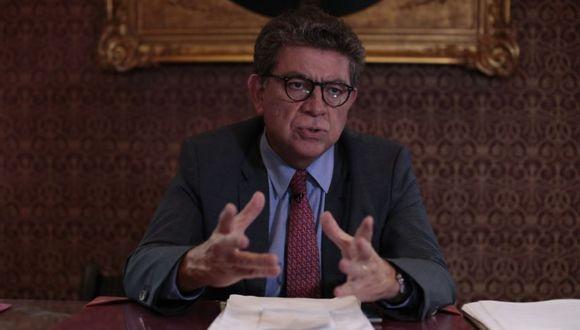 Meza-Cuadra indicó que hoy tuvo una conferencia virtual con diversos ministros de Francia, España y otros países de América Latina, en el cual se abordó el combate contra esta enfermedad. (Foto: Hugo Pérez)