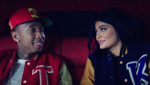 Kylie Jenner protagoniza nuevo videoclip de rapero Tyga [VIDEO]
