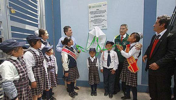 BCP invirtió más de S/20 millones en dos colegios de Arequipa