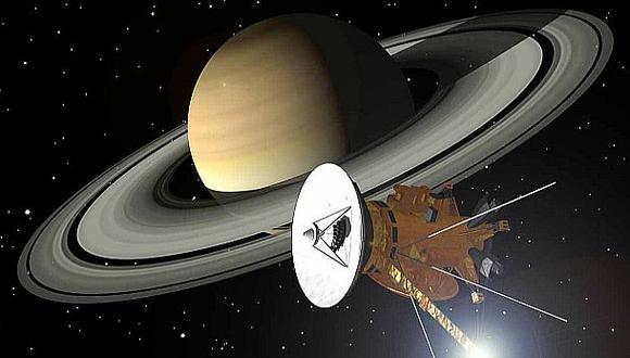 Sonda de la NASA se sumergirá en los anillos de Saturno