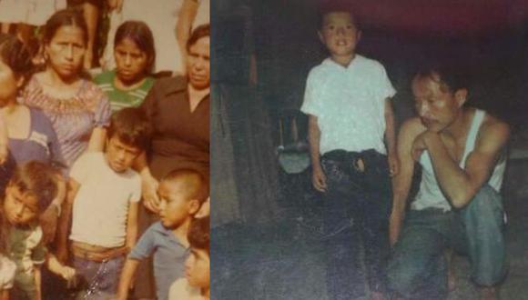 Los padres de Willy Castañeda (de polo blanco en ambas fotos) murieron. Él y sus hermanos vivían con sus tías.