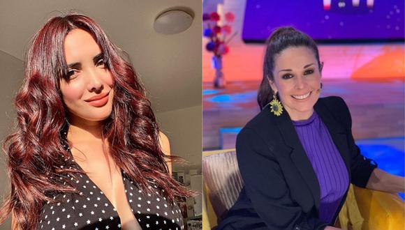 Rosángela Espinoza se reencuentra con Rebeca Escribens. (Foto: @rosangelaeslo/@dona_rebe)