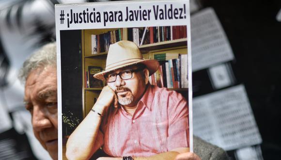 El periodista Javier Valdez fue asesinado en México en el 2017. (AFP).