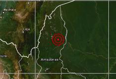 Amazonas: sismo de magnitud 4,1 se reportó en Bagua, informa IGP