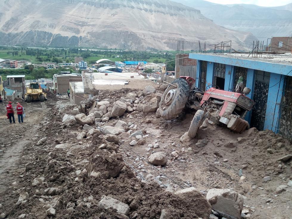 Arequipa: la desolación entre las familias afectadas por el huaico en Aplao