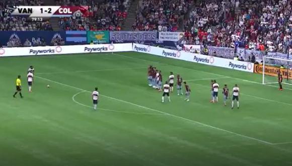 Yordy Reyna tiene dos 2 goles en la presente temporada de la MLS. (Captura: MLS)