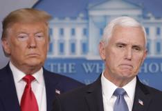 Qué se sabe de la ruptura entre Donald Trump y su vicepresidente Mike Pence