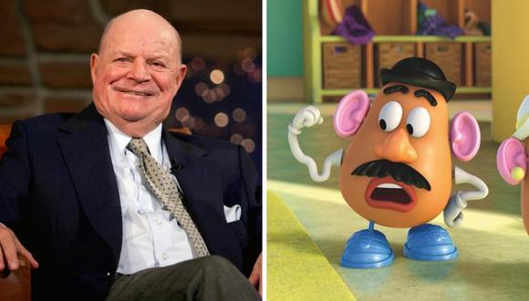 """""""Toy Story 4"""": incluirá la voz de Don Rickles como 'Señor Cara de Papa'  (Foto: AFP/ Facebook Toy Story)"""