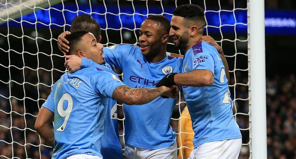 Manchester City y Everton se enfrentan en una fecha más de la Premier League. Conoce todos los partidos de hoy, miércoles 1 de enero. (AFP)