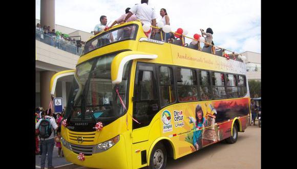 Ucayali contará por primera vez con un bus panorámico