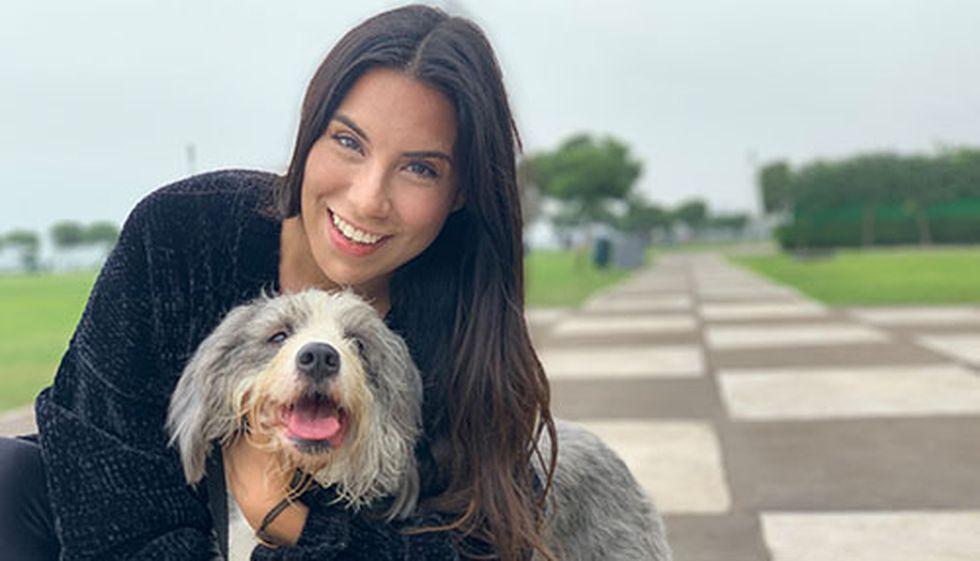 Zoila Castro asegura que el hecho de vivir en un departamento no es impedimento para tener un perro de tamaño mediano, siempre y cuando lo eduques y respetes sus horarios.