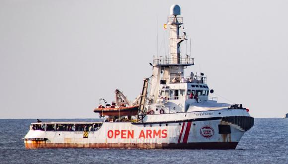 España ofrece el puerto de Algeciras para el Open Arms pero la ONG lo rechaza. (AFP).