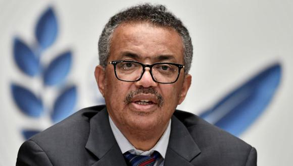 El director general de la OMS Tedros Adhanom Ghebreyesus. (REUTERS/File Photo).