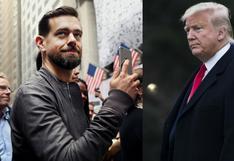 Jack Dorsey vs. Donald Trump en un tema de conciencia política en redes sociales
