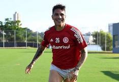 Paolo Guerrero descartado para el inicio del Torneo Gaúcho con Inter de Porto Alegre