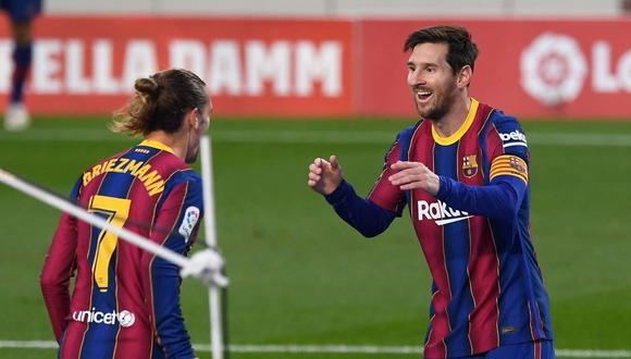 Antoine Griezmann cumple su segunda temporada en Barcelona. (Foto: AFP)