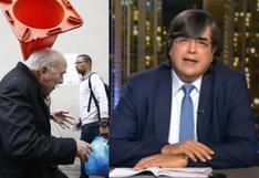 ¿Qué dijo Jaime Bayly sobre agresión con cono de tránsito a Carlos Tubino? | VIDEO