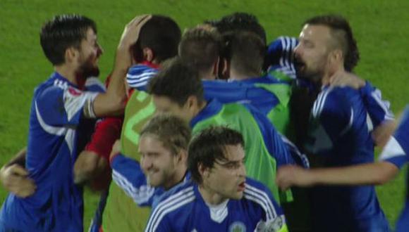 San Marino empató y cortó una racha de ¡61 derrotas seguidas!