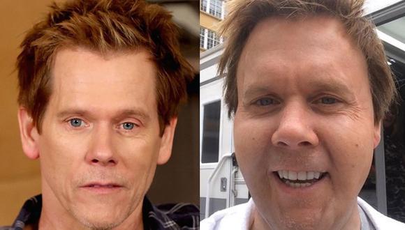 Kevin Bacon luce irreconocible en fotografía subida a Twitter