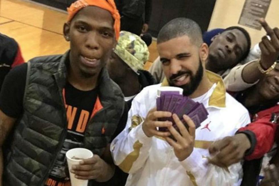 BlocBoy JB junto a Drake, en una de las producciones que compartieron.   Foto: @blocboy_jb