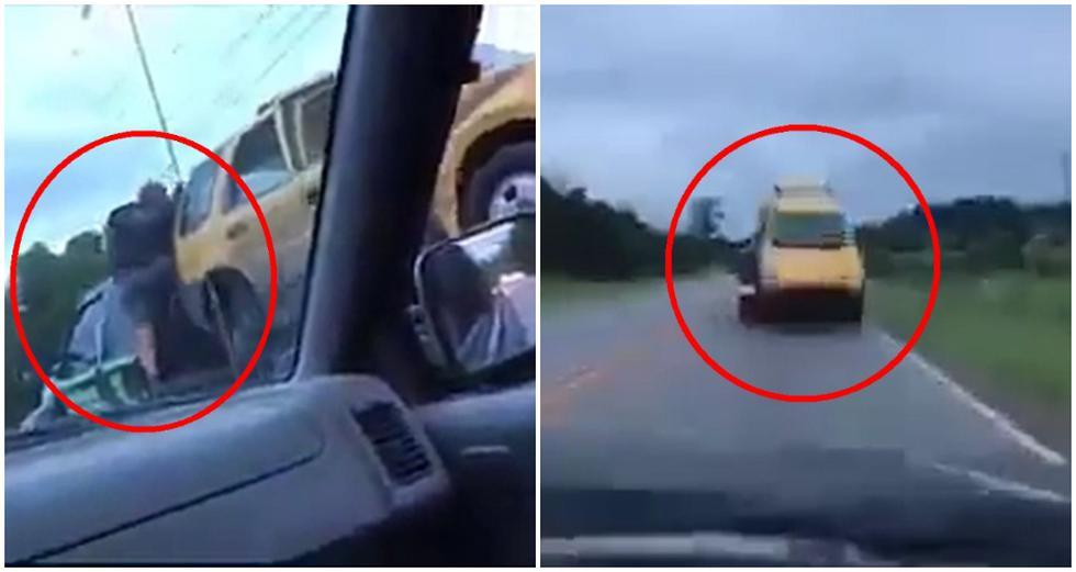 """A lo """"Rápidos y Furiosos"""": persiguió a la grúa que se llevó su auto y lo recuperó empleando atrevida maniobra. (Foto: Captura de Facebook)"""