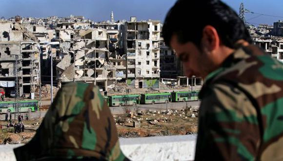 """""""Tropas sirias liquidan últimos focos de resistencia en Alepo"""""""