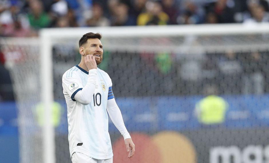 Messi se retractó ante Conmebol para evitar dura sanción | Foto: Agencias