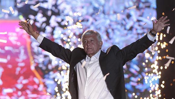 Andrés Manuel López Obrador lidera los sondeos en México y su nombre es el más buscado en Google. (Foto: EFE)