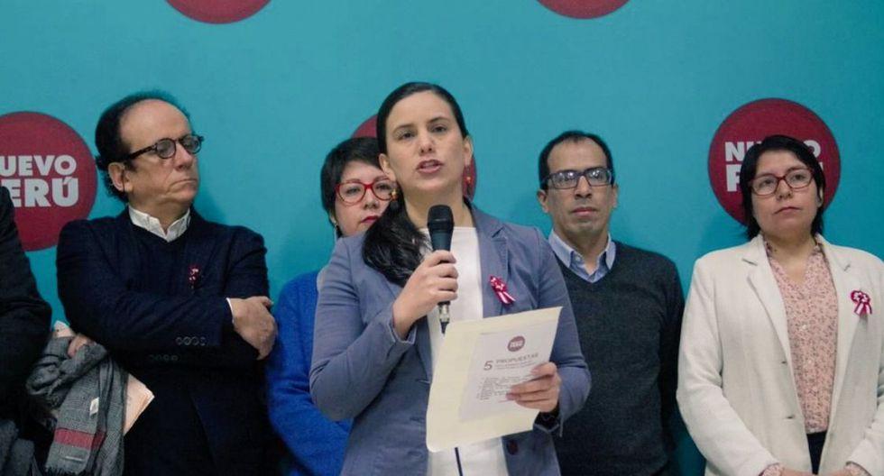 Nuevo Perú, liderado por Verónika Mendoza, acordó participar en las elecciones del 2020 en alianza con los partidos de Vladimir Cerrón y Yehude Simon. (Foto: GEC)