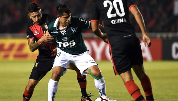 Enzo Gutierrez marcó 12 goles la temporada pasada con Santiago Wanderers. (Foto: AFP)