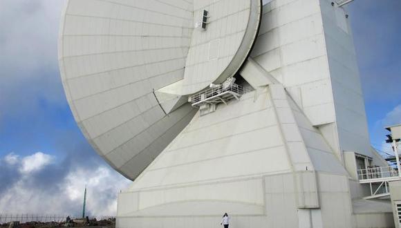 El Gran Telescopio Milimétrico, ubicado en el estado mexicano de Puebla, fue parte del proyecto que obtuvo la primera imagen de un agujero negro. (Foto: EFE)