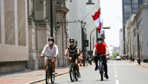 Celebra el aniversario de Lima en bicicleta este 16, 17 y 18 de enero.(Foto: Fernando Sangama)