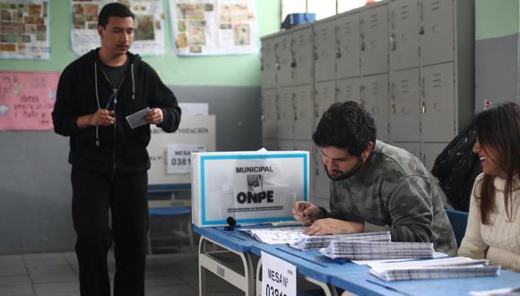 """""""Necesitamos apoyo público y privado"""", indicó el jefe de la ONPE. (Foto: GEC)"""