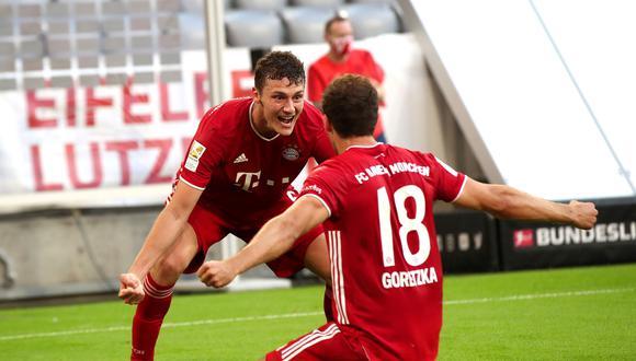 El gol de Goretzka le dio los tres puntos al Bayern Múnich | Foto: EFE