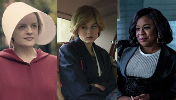 Los Emmy 2021 se realizarán en Los Ángeles, Estados Unidos. (Foto: Hulu/Netflix/HBO)