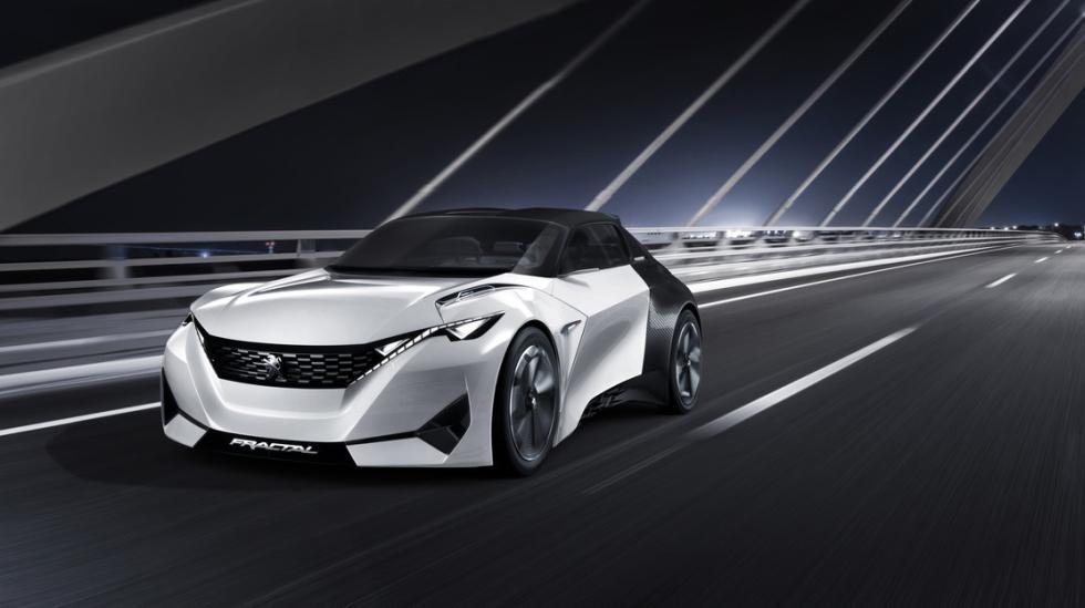 Peugeot Fractal: El auto francés del futuro - 1