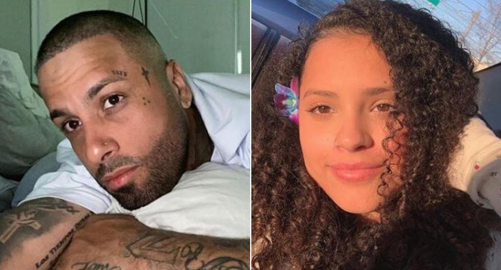Alyssa Rivera, hija de Nicky Jam,  sorprendió en Instagram cantando un tema de su padre. (Foto: Instagram de Nicky Jam y Alyssa Rivera).