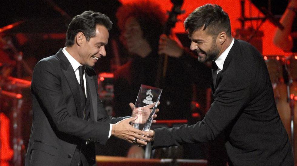 Marc Anthony fue reconocido el último miércoles como la Persona del Año de la Academia Latina de la Grabación. (Foto: AP)