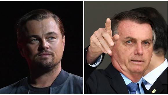 Leonardo DiCapriio se pronuncia contra Jair Bolsonaro. (Fuente: Agencias)