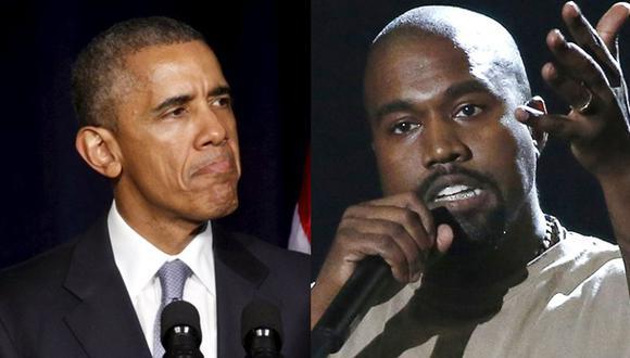 Barack Obama bromea sobre aspiraciones de Kanye West
