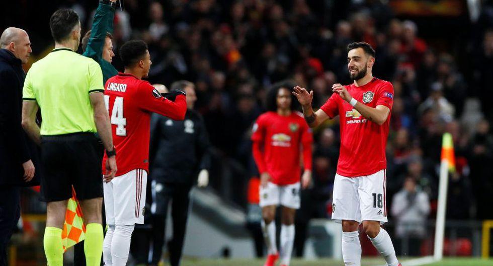 Estas fueron las mejores fotografías del partido entre Manchester United y Brujas por los dieciseisavos de final de la UEFA Europa League. Reuters/Jason Cairnduff