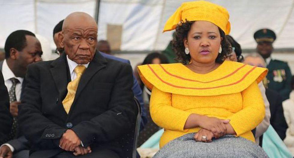 El primer ministro de Lesoto y su segunda esposa están involucrados en un caso digno de una novela policial. (Foto: AFP)