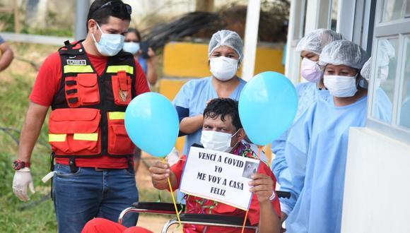 Juan Carlos Bravo Huancas permaneció 11 días internado en el hospital Santa Rosa de Puerto Maldonado. (Foto: Gore Madre de Dios)